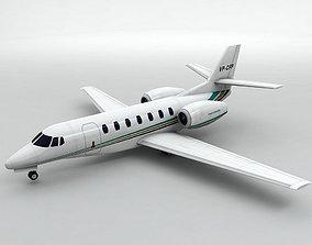 Cessna Citation Sovereign Aircraft 3D asset