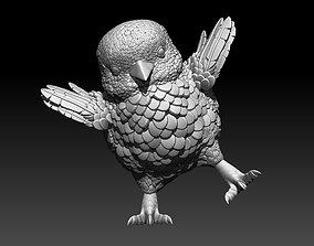 chick 3D print model