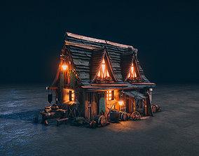 Medieval Kingdom - Realtime PBR Village House 3D model
