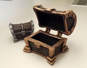 3D printable model Treasure chest