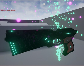 Dominator from Psycho pass 3D asset