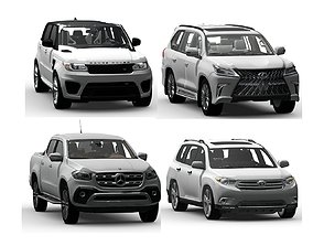 SUV Pack 3D