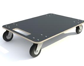 Cart wooden 3D