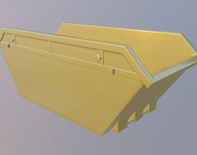 Skip Model 3D asset low-poly