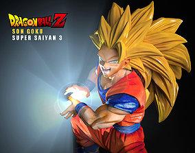 3D model GOKU Super Saiyan3