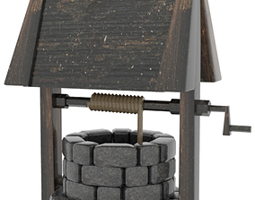 Water Well 3D architectural