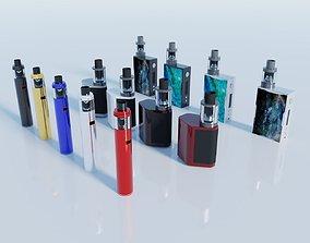 Electronic Cigarette vape mod 3D model