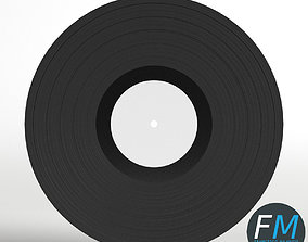 3D asset Vinyl Phonograph Record