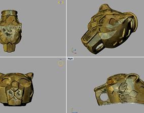 Tiger Head printable Model puma