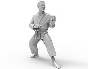 karate Kokutsu Dachi Stance Printable