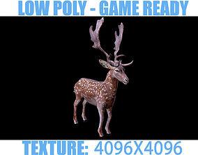 3D model Deer 01