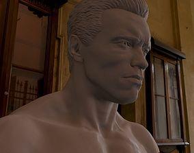 3d printable model Arnold Schwarzenegger hollywood