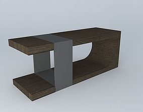 3D model LUMA Strap Bench 2