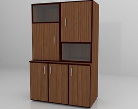 File Cabinet 3D model low-poly