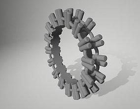 3D printable model gift Diamond Ring