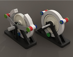 3D printable model Magnet engine