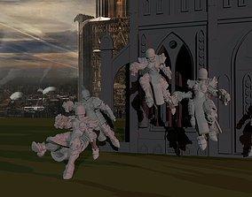 3D printable model Sisters of War - Angelus Squad
