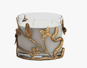 3D HONEYSUCKLE CANDLE