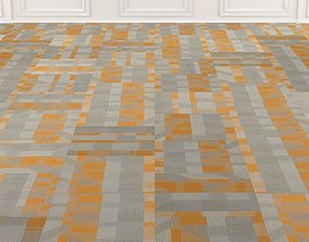 3D model Wall to Wall Carpet Tile No 1