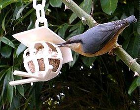 3D print model bird fat ball support