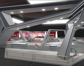 VR / AR ready 3D Showroom Level Kit Vol 6