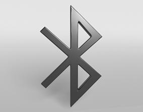Bluetooth Symbol v1 003 3D model
