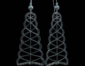 3D model Beads Earring
