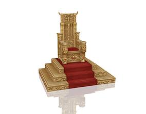 Royal Throne 3D model