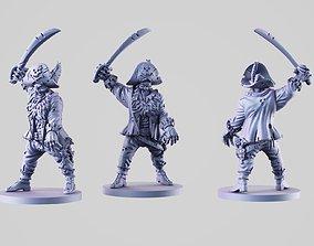 3D print model Captain Zombie