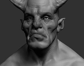 3D Creature Hun