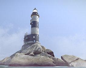 3D asset Lighthouse Aniva