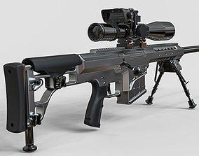 3D Sniper Rifle Set