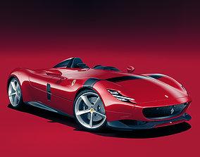 3D Ferrari Monza SP1
