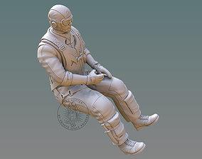 3D printable model US NAVY PILOT