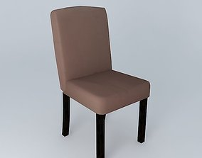 TEMPO chair taupe houses the world 3D model