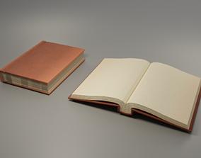 Hardcover Book 3D asset