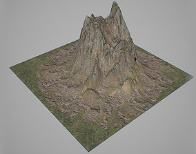 3D asset Mountains V2