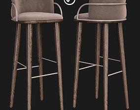 Arven Barstool by Parla 3D asset