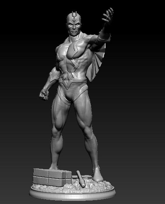 Black bolt commission piece