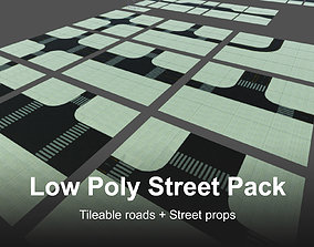 PBR Road and Street Props Pack 3D model