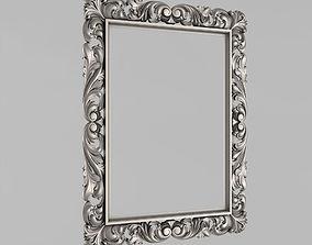 Frame for the mirror 3D printable model frame
