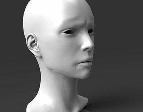 3D print model Detailed head 5