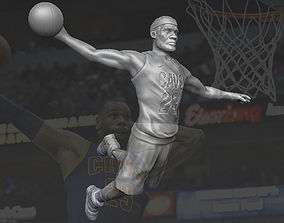 Lebron James 3D printing ready stl obj