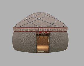 Medieval Turkish Old Tent- Turk Cadiri 3D model