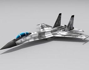 Su-30 Flanker 3D model