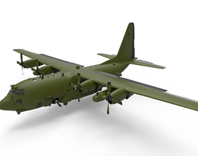3D C 130 Hercules