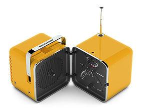 3D Brionvega TS 502 radio