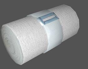 Elastic Bandage 3D asset