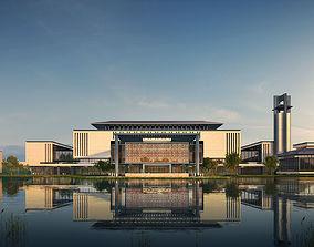 Architecture 036 college 3D