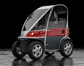 3D model Kyburz PLUS II - Swiss electric vehicle